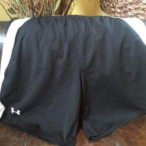 Under Armour Black & White Shorts AS